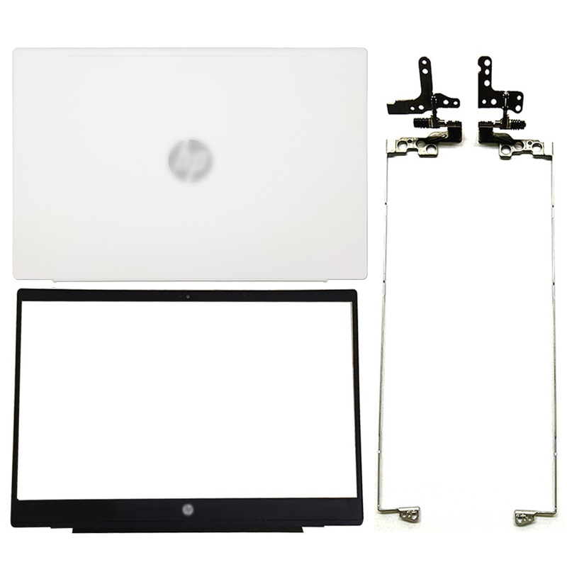 NEW For HP 15-CS 15-CW TPN-Q208 Series LCD Back Cover/Front Bezel/Hinges/Hinges Cover L28379-001 White
