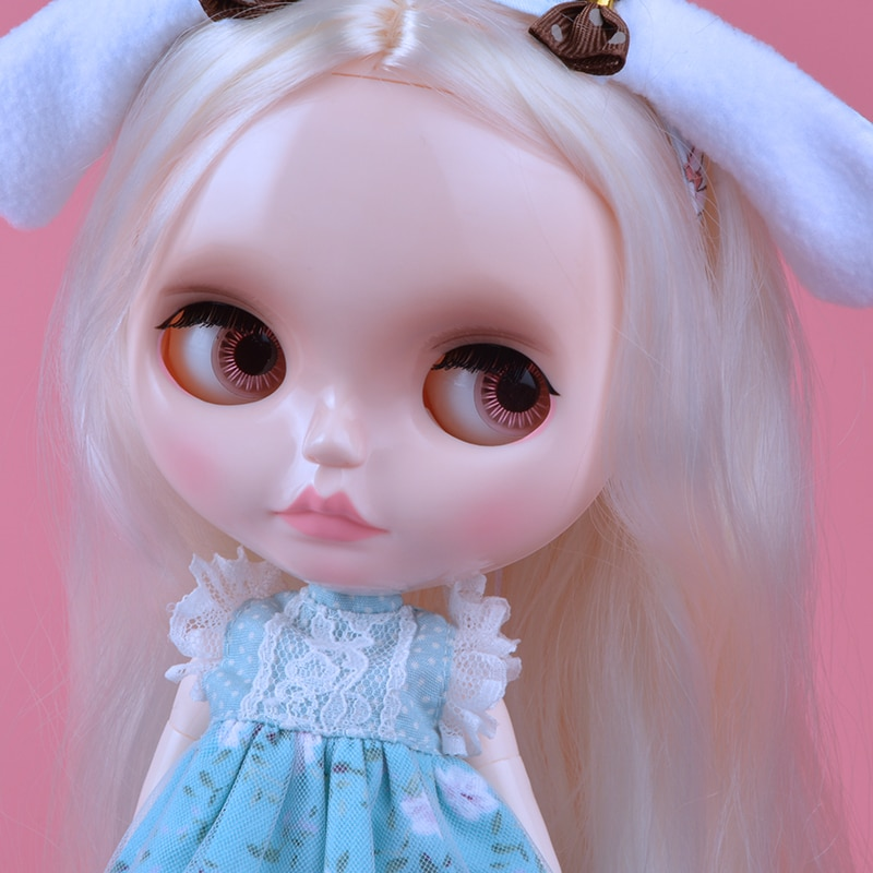 AliExpress - Neo Blyth Doll NBL Customized Shiny Face,1/6 BJD Ball Jointed Doll Ob24 Doll Blyth for Girl, Toys for Children