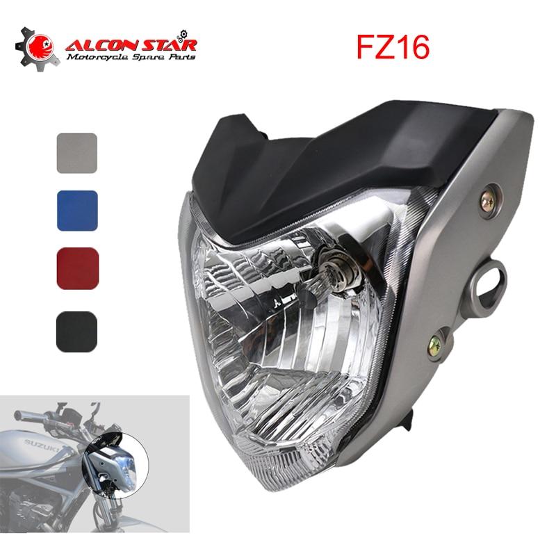 Alconstar- 4 цвета фара для мотоцикла с кронштейном для лампы подходит для Yamaha FZ16 YS150 FZER150 фара