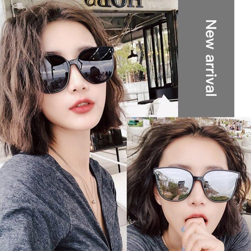 2021 Classic Vintage Square Sunglasses Women Oversized Sunglasses Women Men Retro Black Luxury Sun G