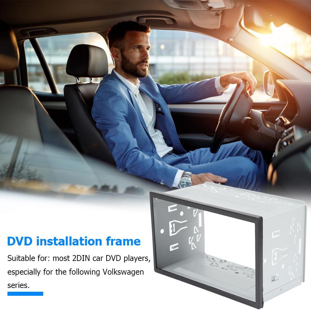 2 Din coche de Audio estéreo reproductor de DVD instalar Dash bisel...