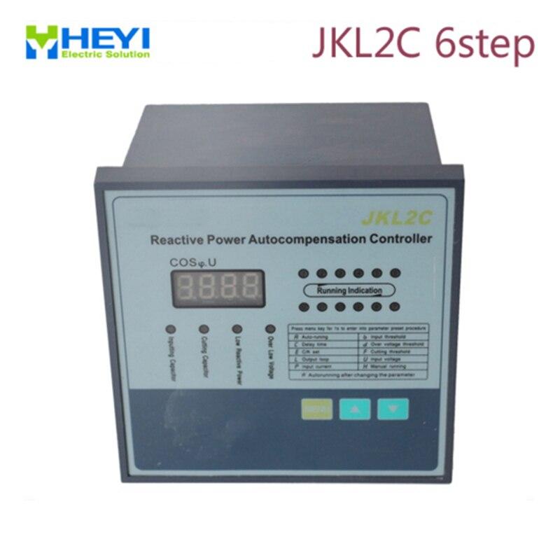 جهاز تحكم JKL2CReactive بتعويض الطاقة ، 220 فولت ، 50 هرتز ، 6 خطوات