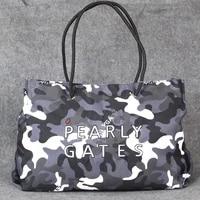 fashion lady straddle shoulder bag golf clothing bag large capacity storage bag camouflage canvas composite material handbag