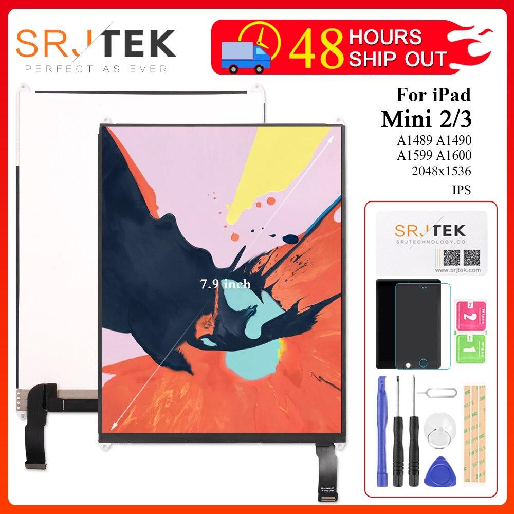 "7,9 ""LCD para iPad Mini 2 3 Gen Retina Mini2 A1489 A1490 Mini3 A1599 A1600 A1601 Pantalla de matriz de Pantalla LCD para iPad Mini Pantalla"