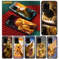 marvel ancient one for samsung s20 fe ultra plus a91 a81 a71 a51 a41 a31 a21 a11 a72 a52 a42 a22 soft black phone case