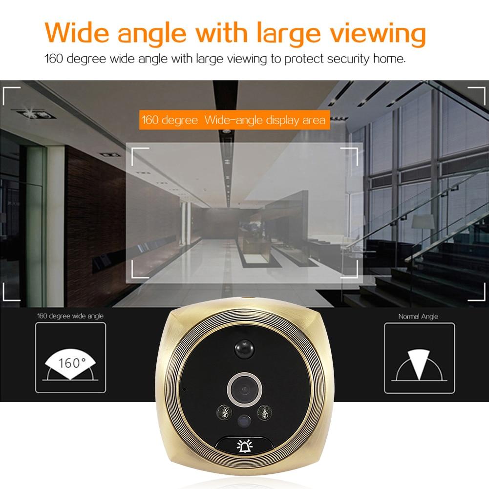 Door Peephole Camera Video Eye Video Doorbell 4.3 Inch LCD Digital Electronic Door Viewer Night Vision Support Motion Detection enlarge