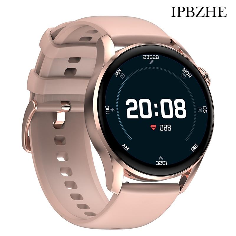 Ipbzhe Smart Watch Men Ip68 ECG Sport Blood Oxygen Smart Watch Women Bluetooth Call SmartWatch For A