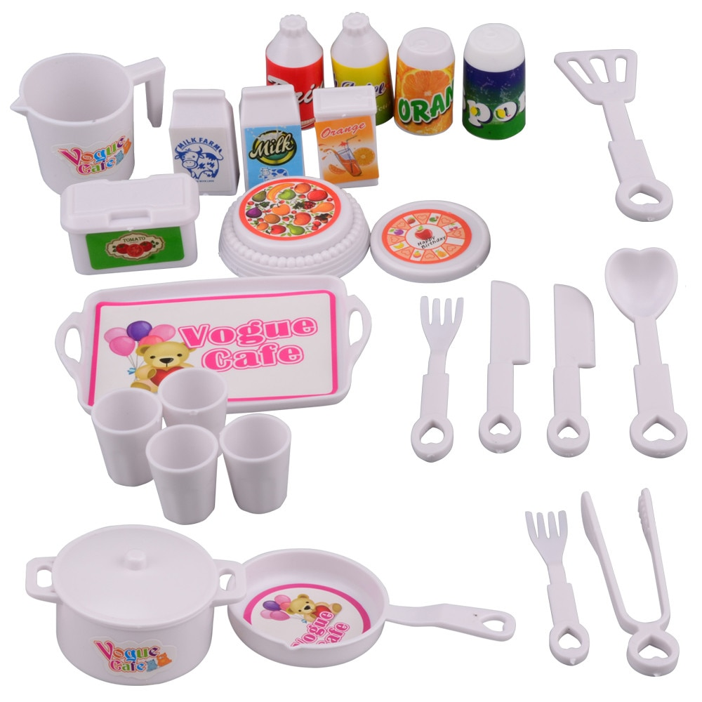 AliExpress - Kids Cooking Baking Set Kitchen Girls Toys Role Play Children  Pretend Role Play Baking Cooker Set  Mini Stove  Game игрушки fg