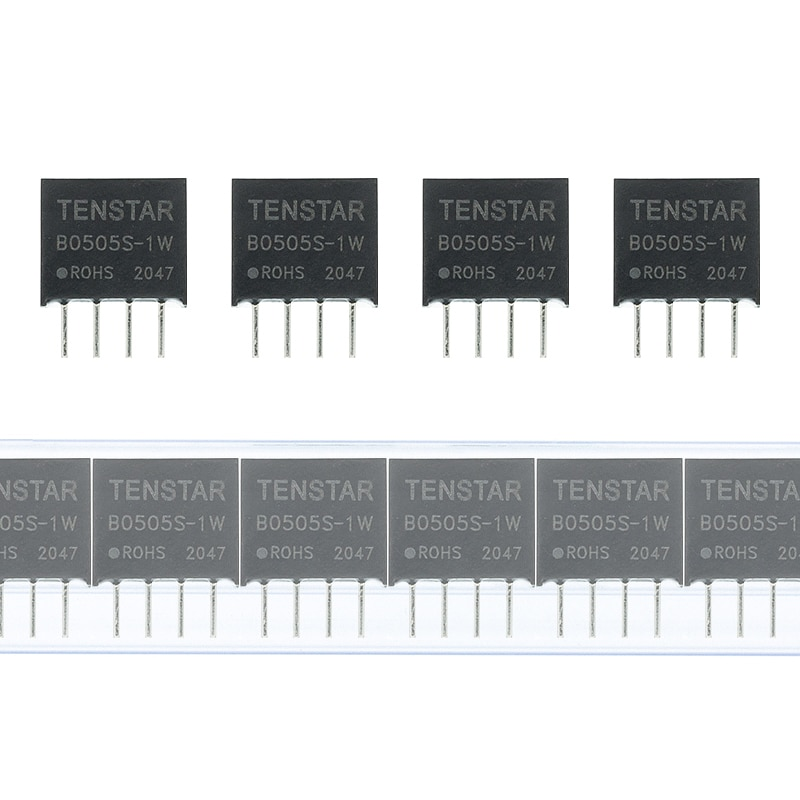 50 шт. B0505S-1W при напряжении от 5 В до 5 В пост конвертер постоянного тока питания модуля преобразователя 1000VDC изоляции