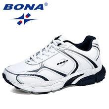 BONA-chaussures en cuir pour hommes, baskets pour la course, la marche et le Jogging, tendance, nouveaux stylistes 2020