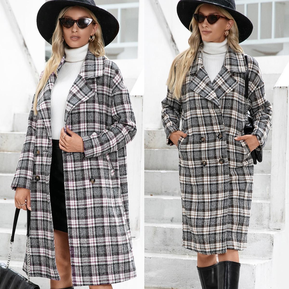 Осенне-зимняя твидовая куртка 2021, модная спортивная куртка, популярная куртка, Женская Осенняя Повседневная Женская одежда, Женская куртка