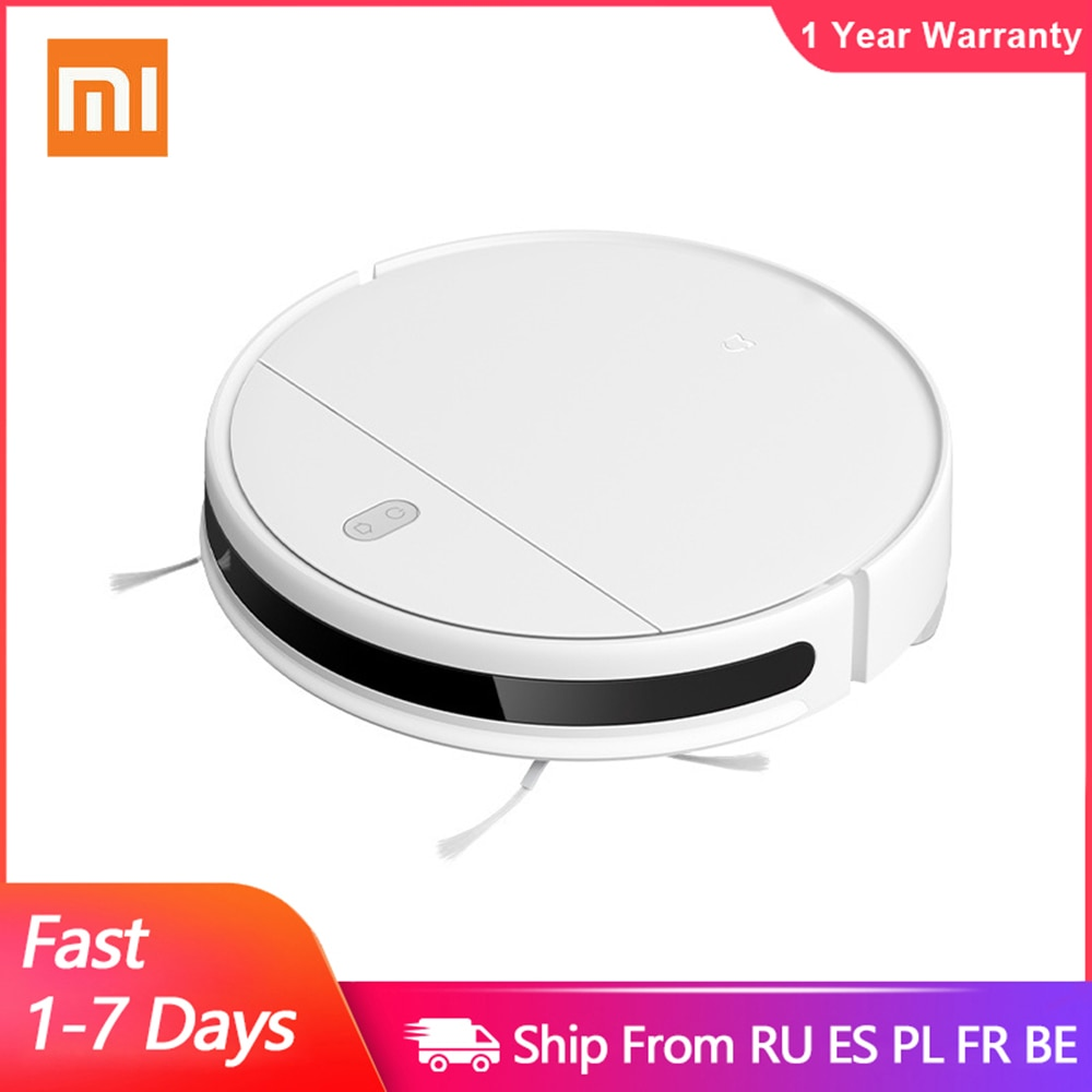 XIAOMI MIJIA Mi Robot Vacuum-Mop Essential G1 Sweeping Mopping Cleaner for home cordless Washing cyclone Suction Smart Planned