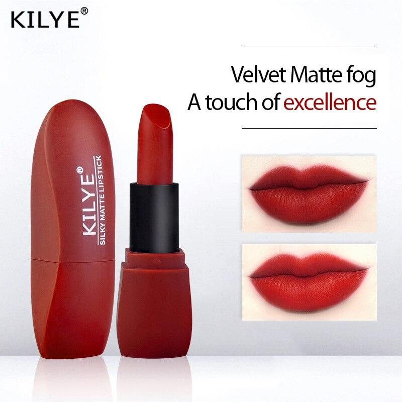 12 Colors Makeup Matte Lipstick Waterproof Long Lasting Lip Stick Sexy Red Pink Velvet Nude Lipstick