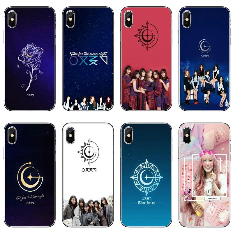 Gfriend kpop chica para iPhone XR X XS X Max 8 7 6s 6 plus SE 5s 5c 5 iPod Touch accesorios teléfono caso