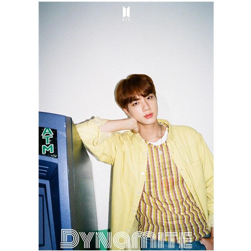JIN Poster Fan Gift 42*30CM  Kim Seok Jin the 20th memorial at collectors edition kim jkwang seok lee jong gu release date 2016 04 26 kpop