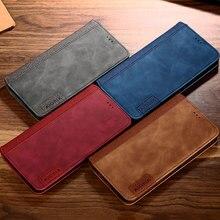 Coque pour Sony Xperia 1 XZ3 XZ2 XZ1 compacte XZ Z5 Premium Z4 5 10 XA2 XA1 XA X Performance L3 L2 L1 étui en cuir avec aimant