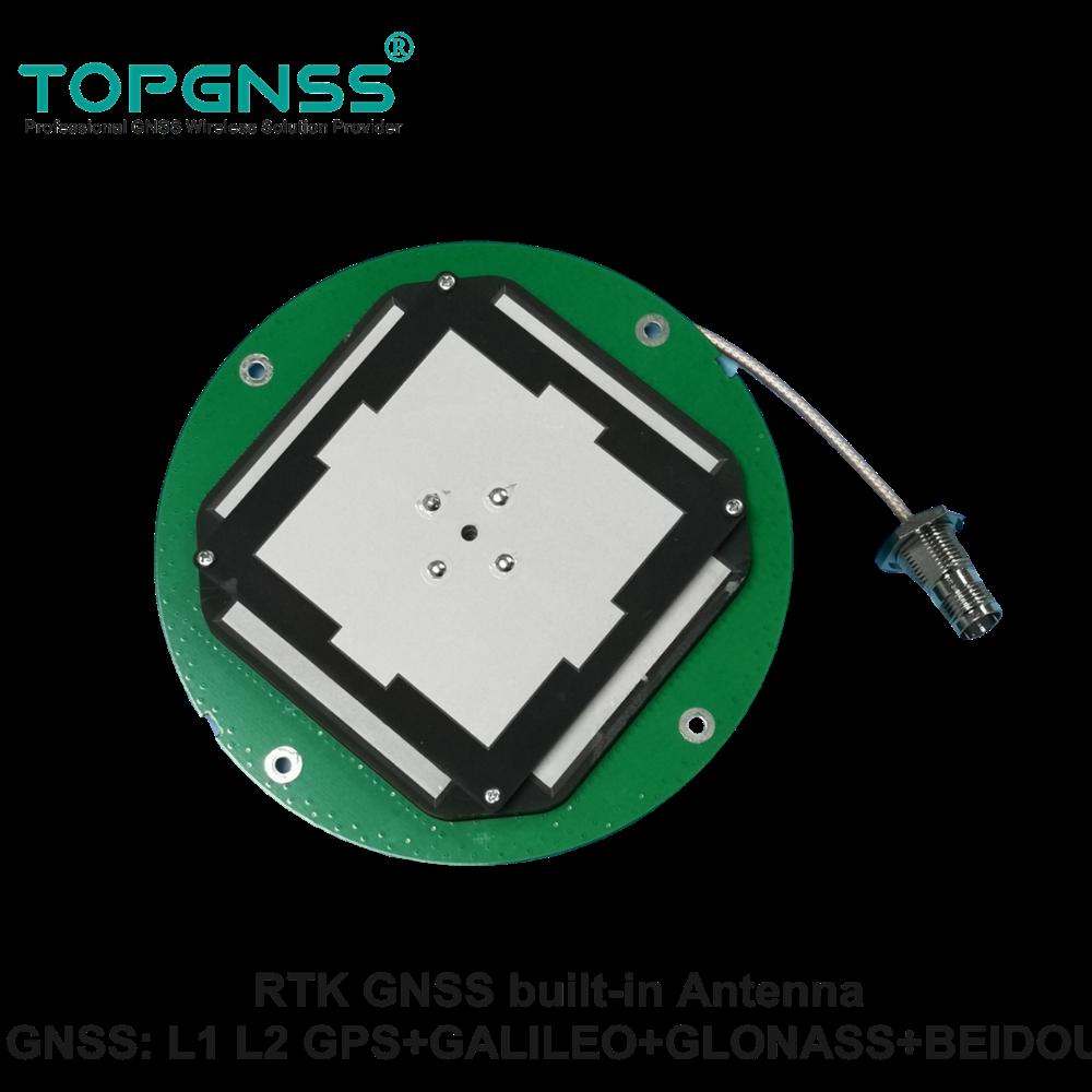 TOPGNSS-antena de alta precisión RTK GNSS, ZED-F9P GPS, alta ganancia, CORS, TNC-K,...