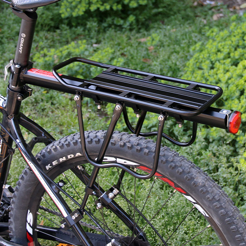 Deemount אופניים לשמירת Carrier מתלה אחורית מטען אופניים מדף תיק Stand מחזיק תא מטען Fit 20-29 ''Mtb & 4.0'' שומן אופני