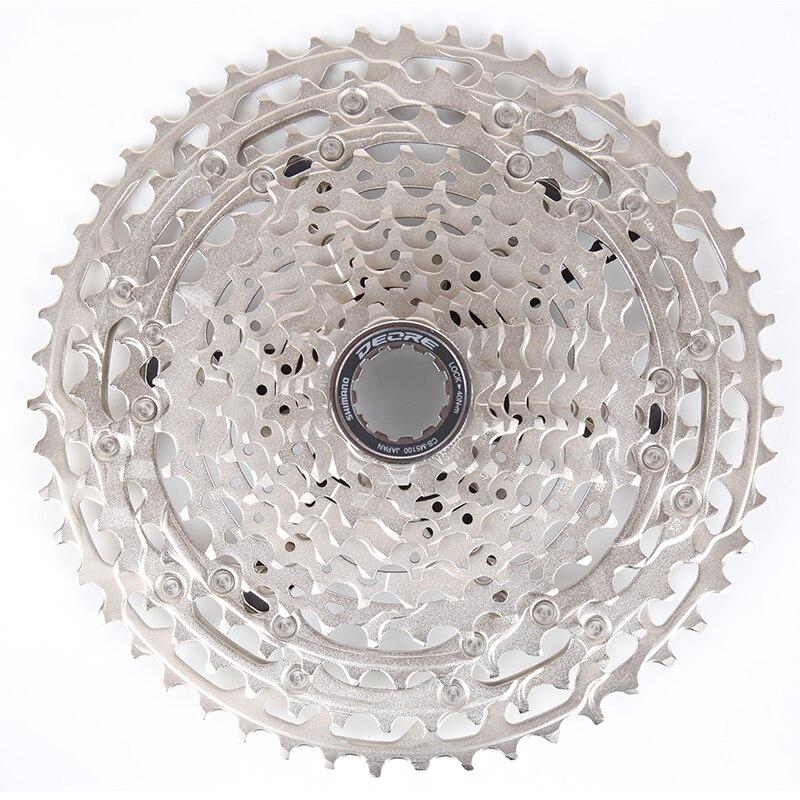 2021 shimano deore m5100 cs 1x11 11 velocidade cassete roda dentada 11-51t mtb bicicleta roda livre shimano 11 velocidade freehub corpo
