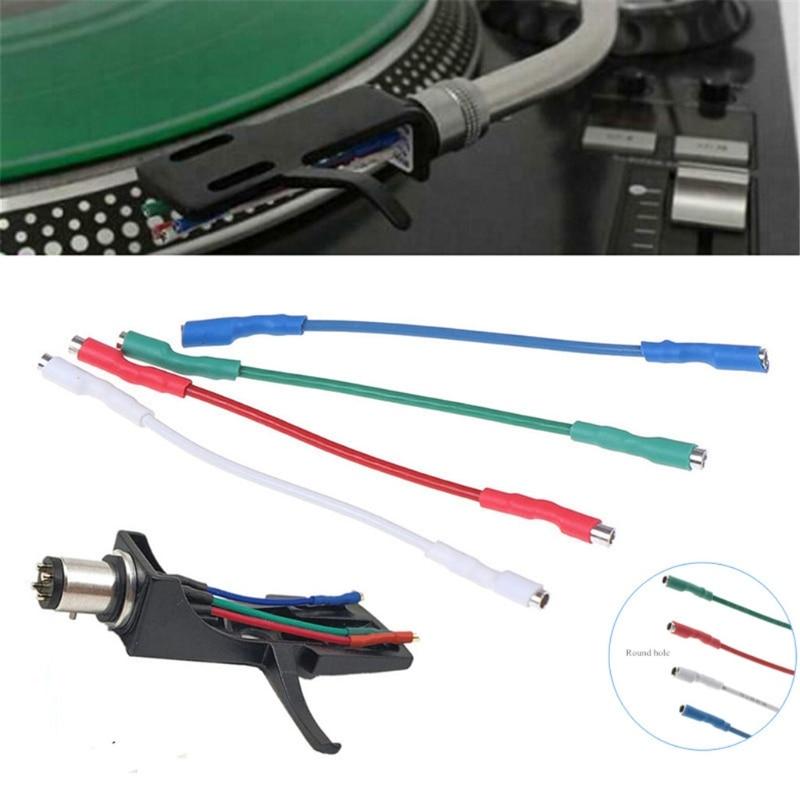 Cables universales para dispositivos móviles, Cable de cabeza de 50mm para tocadiscos...