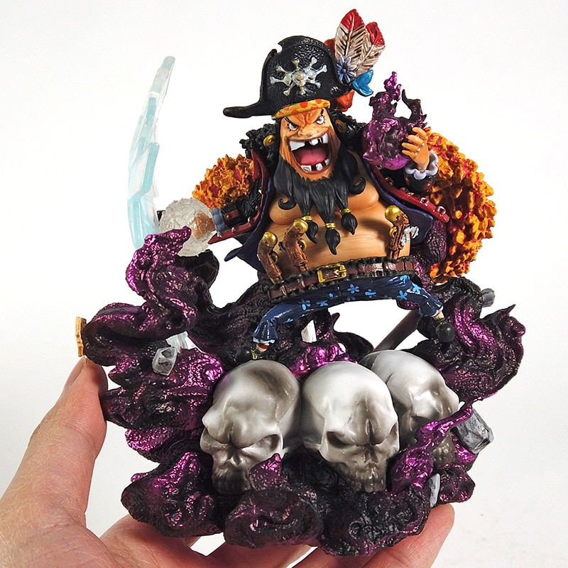 One Piece Blackbeard Marshall D Teach GK Statue Collectible Figure Model Toy
