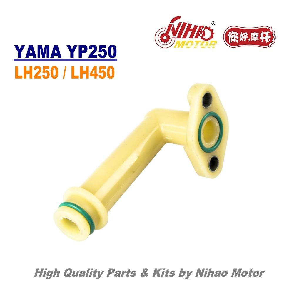 TZ-55 250cc Majesty 250 bomba de agua entrada Linhai piezas YP250 LH250 ATV QUAD motocicleta China Motor de repuesto