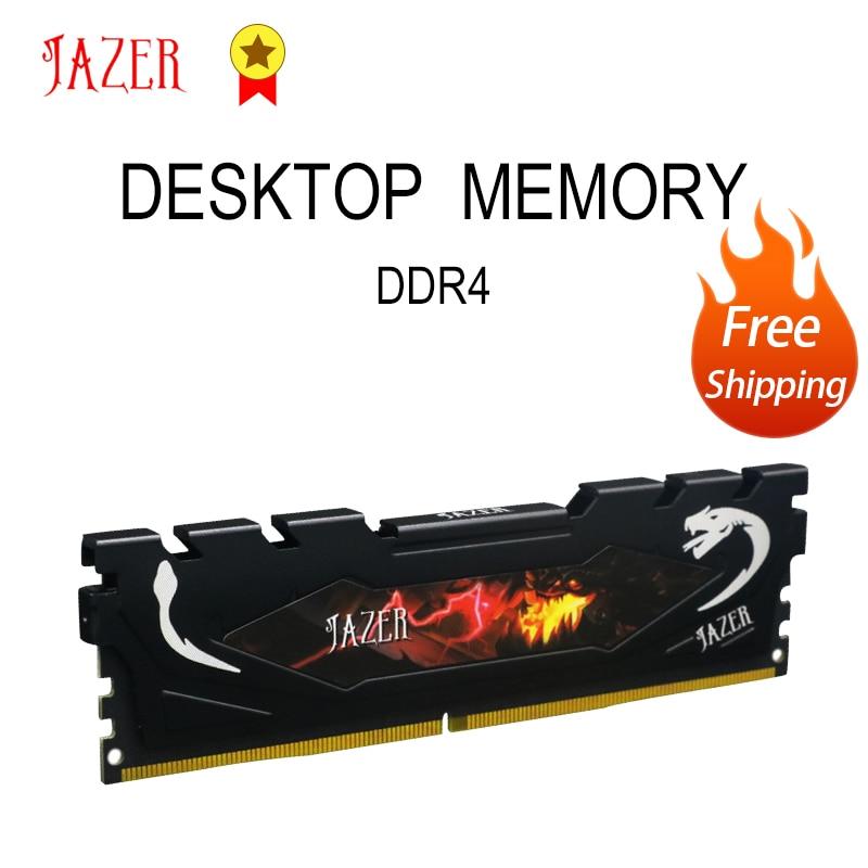 جازر ذاكرة وصول عشوائي مكتبية 8GB 16GB DDR4 4GB 2400MHz 2666MHz 3000MHz 3200MHz ذاكرة الكمبيوتر مع المبرد