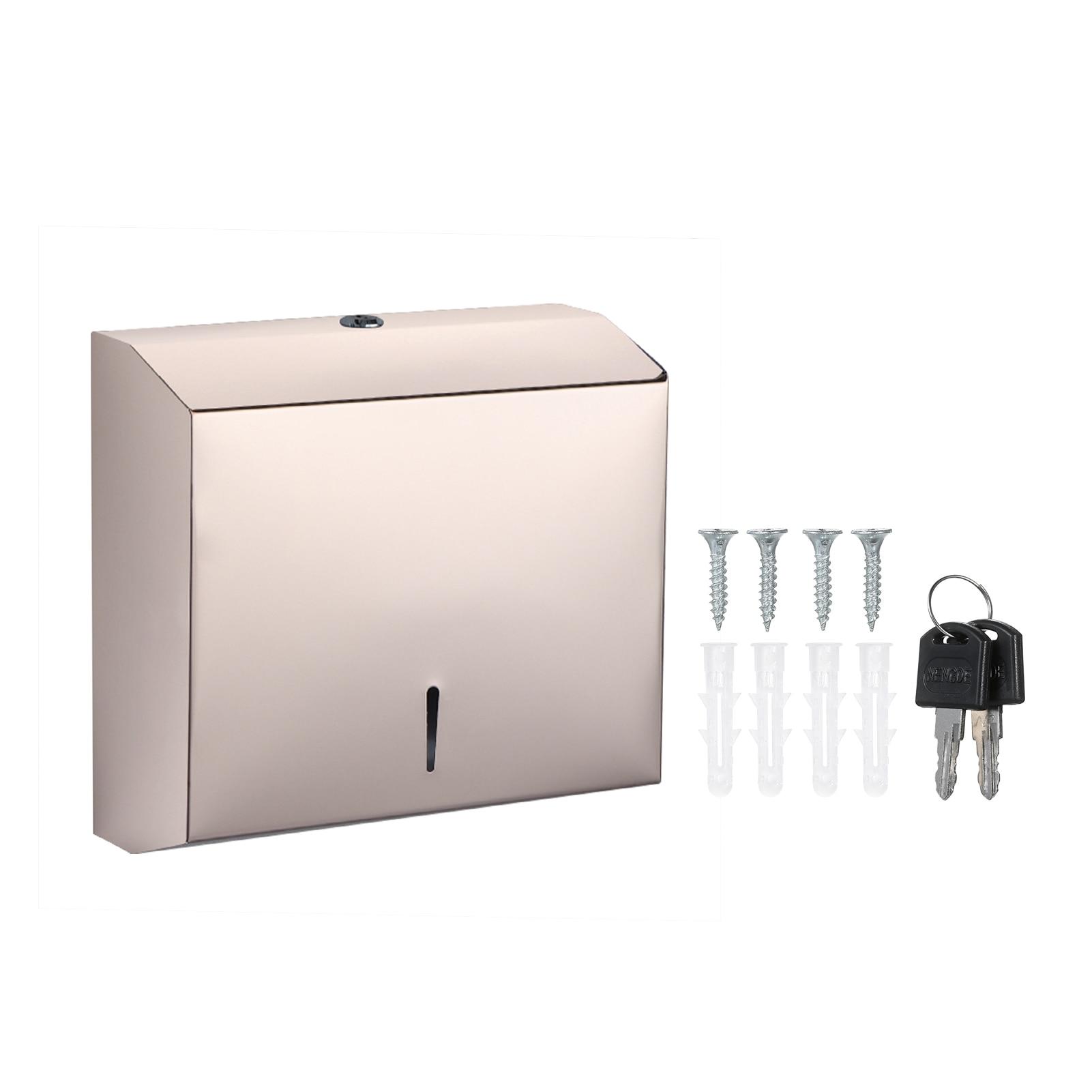 Toilet Paper Dispenser Locks