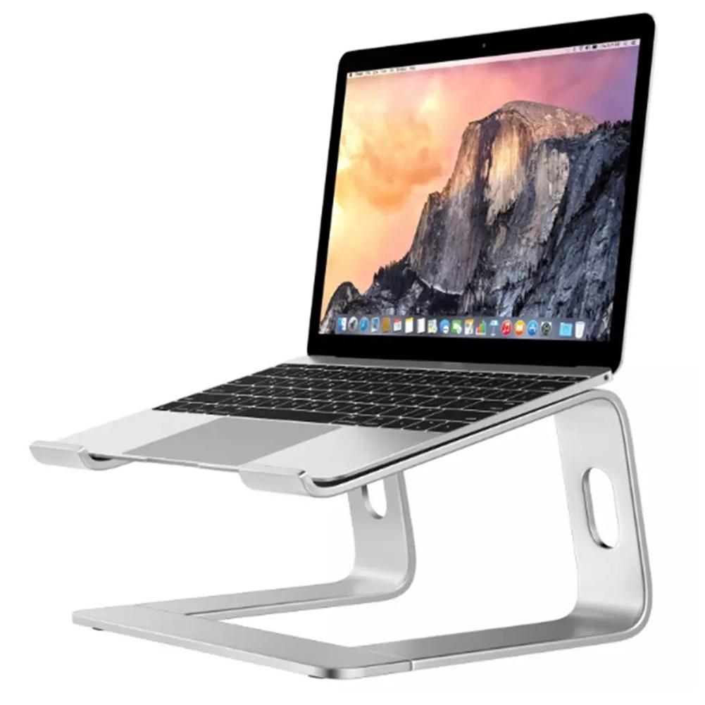 Nuevo soporte para ordenador portátil de escritorio de aleación de aluminio caliente disipación de calor soporte para ordenador antideslizante