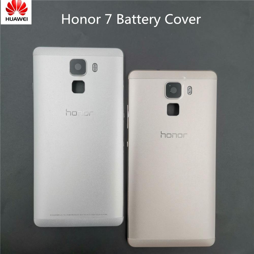 100% Original For Huawei Honor 7 PLK-AL10 PLK-L01 PLK-TL01H Battery Cover Back Housing Rear Door Case Full Battery Cover Panel