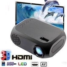 Mini HD 1080P Projector Home Theater BLJ-111 LCD Projector 800lumens AV/USB/HDMI-Compatible HD Inter