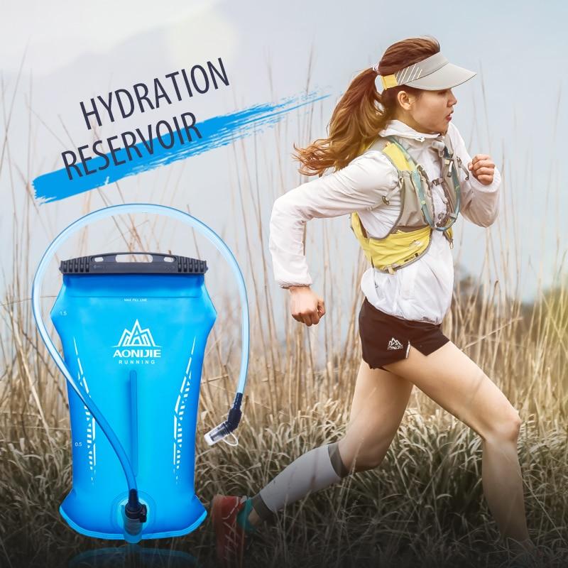 AONIJIE SD52 Hydration Pack Water Reservoir Water Bladder Storage Bag BPA Free Hiking Running Hydration Vest Backpack 1.5L 2L