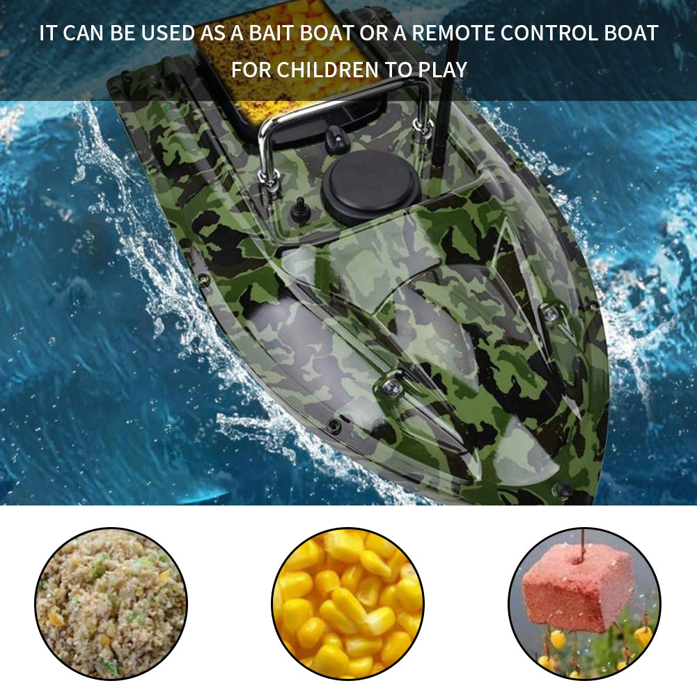 GPSWave Fishing Bait Containers Remote Control Bait Boat 1.2-1.5Kg Bait Cruise Fishing Smart RC Bait Boat Ship Speedboat RC Toys