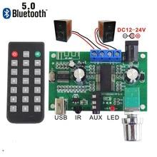 SOTAMIA Bluetooth 5,0 Power Verstärker Bord 2 × 26W Stereo Sound Verstärker AUX USB Decoder Amplificador Lautsprecher Home Audio amp