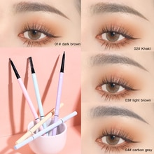 Super Thin Eyebrow Pencil Waterproof Long-lasting 4 With For Eyebrow Colors To Professional Eye Prod