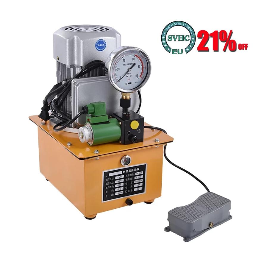 جديد وصول الكهربائية العقص كماشة ECO-300 الهيدروليكية العقص كماشة الكهربائية محطة العقص كماشة 220V 750W 12T 16-300mm2