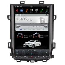 Android 9.0 7.1 Tesla style lecteur DVD de voiture GPS Navigation Radio pour Toyota Alphard Vellfire 20 série 2010 2011 2012 2013 2014