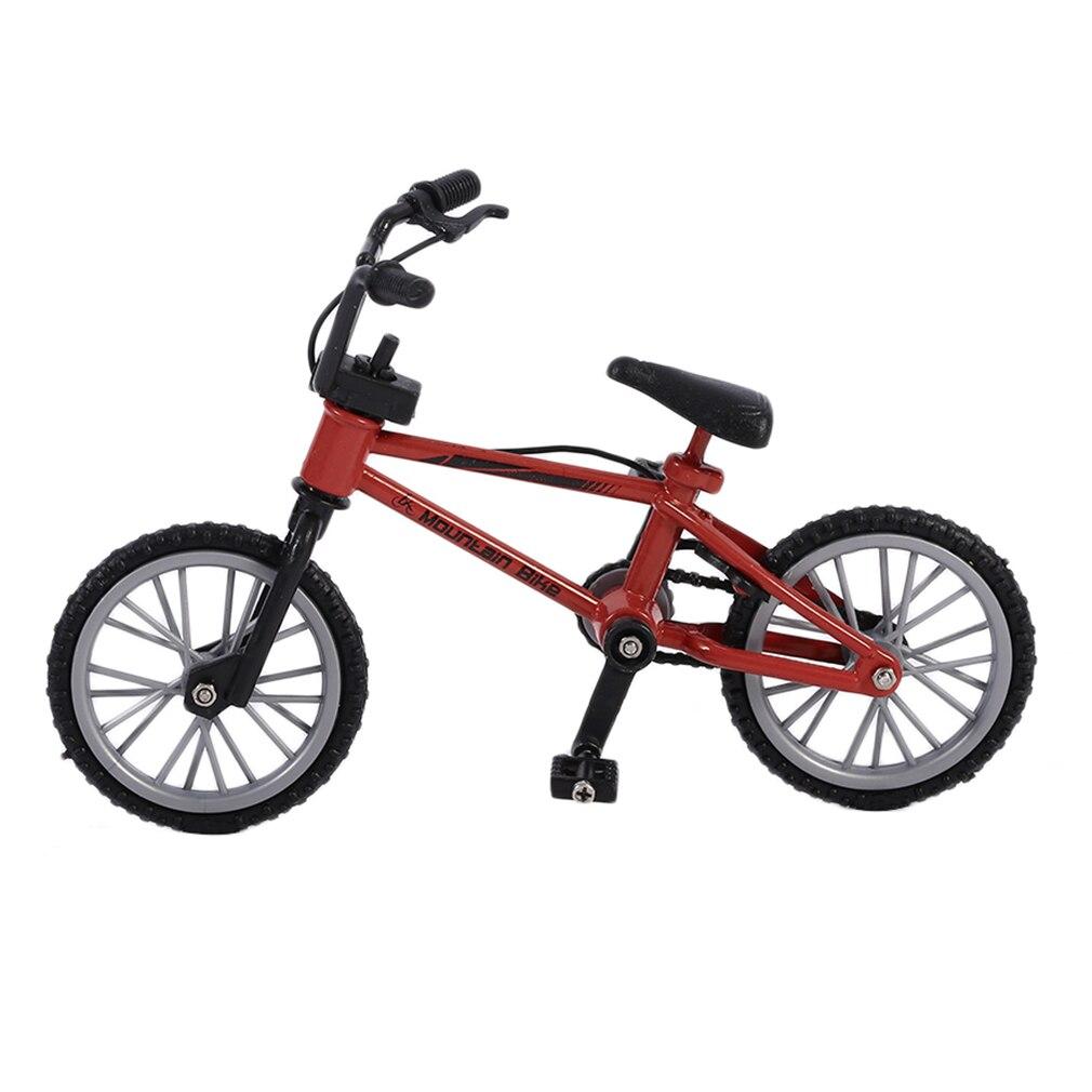 Ocday excelente qualidade bmx brinquedos fingerboard liga dedo bmx funcional crianças bicicleta dedo mini-dedo-bmx conjunto de fãs de bicicleta