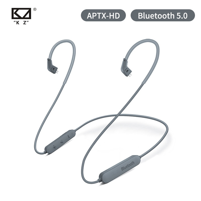 AK KZ беспроводной Bluetooth кабель 5,0 APTX HD обновленный провод модуля с 2PIN для KZ ZS10 Pro/ZST/AS06/AS10/AS16/ZSN PRO ZSX C10 V90