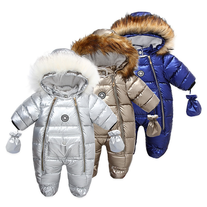 winter-infant-thick-warm-overalls-baby-hooded-fur-collar-jumpsuit-newborn-windproof-snowsuit-kids-outerwear-girls-boys-rompers