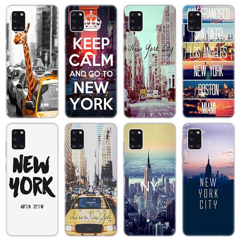 La ciudad de Nueva York, caso suave para Samsung Galaxy A02 A10...