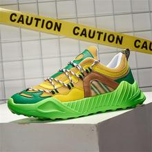 New style fashion mesh men's shoes all-match sports shoes. Four seasons fitness running shoes, compr