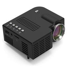 Mini Portable Video Projector LED WiFi Projector UC28C 1080P Video Home Cinema Movie Game Cinema Off