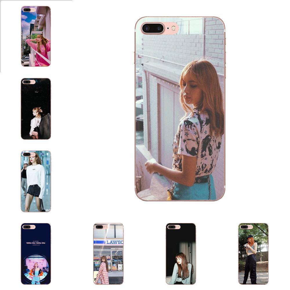 Para Samsung Galaxy A51 A71 A81 A90 5G A91 A01 S11 S11E S20 Plus Ultra TPU funda de piel Corea Kpop Blackpink Lisa nueva personalizada