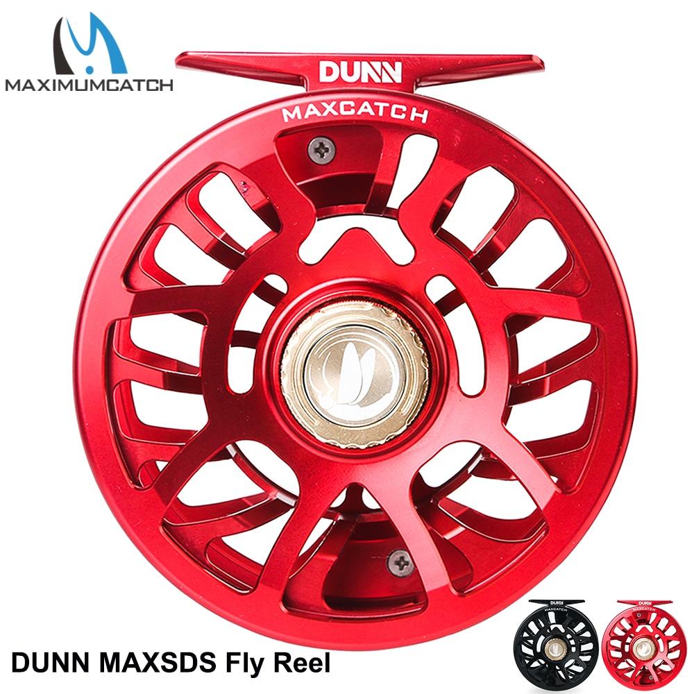Maximumcatch Dunn Fully Sealed Waterproof Fly Fishing Reel CNC Machined Maintenmance-free Drap System Ultralite MAXSDS Fly Reel