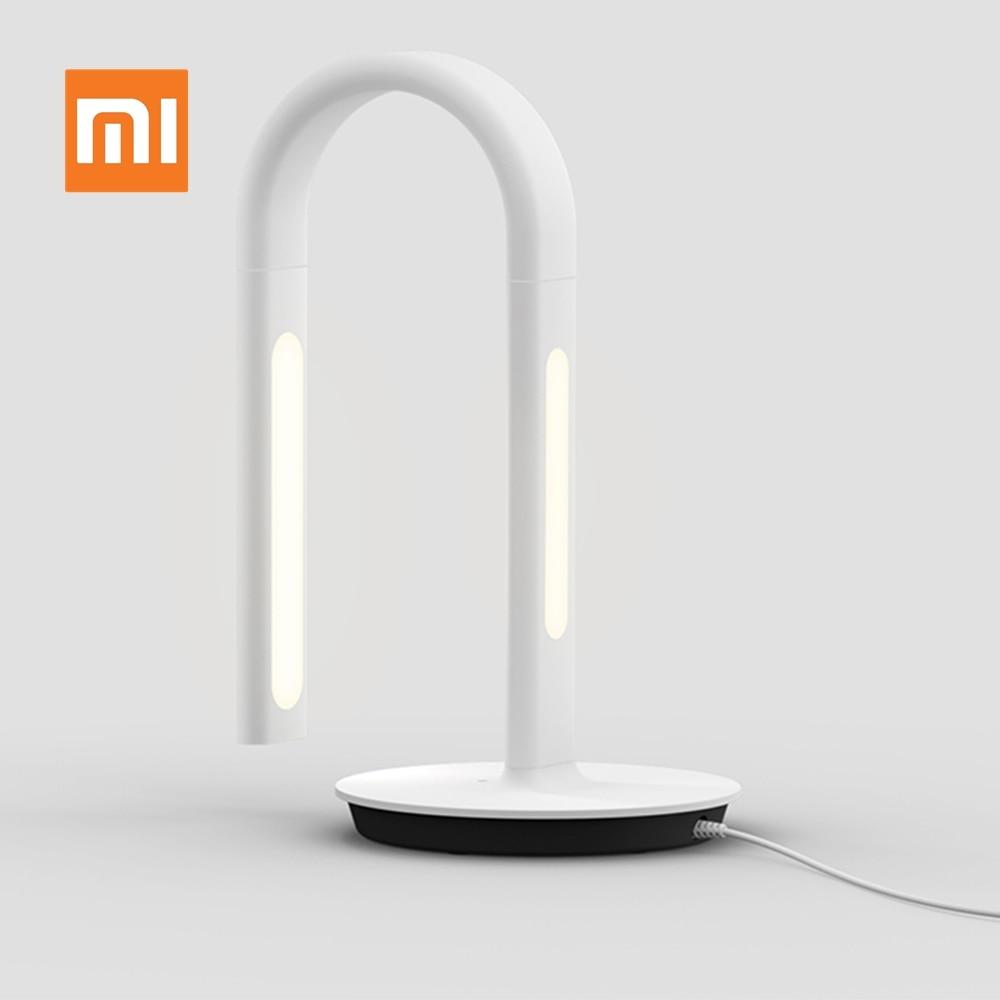 Original xiaomi philips candeeiro de mesa 2s controle inteligente led lâmpada de mesa luz leitura mijia eyecare aplicativo inteligente controle remoto luz