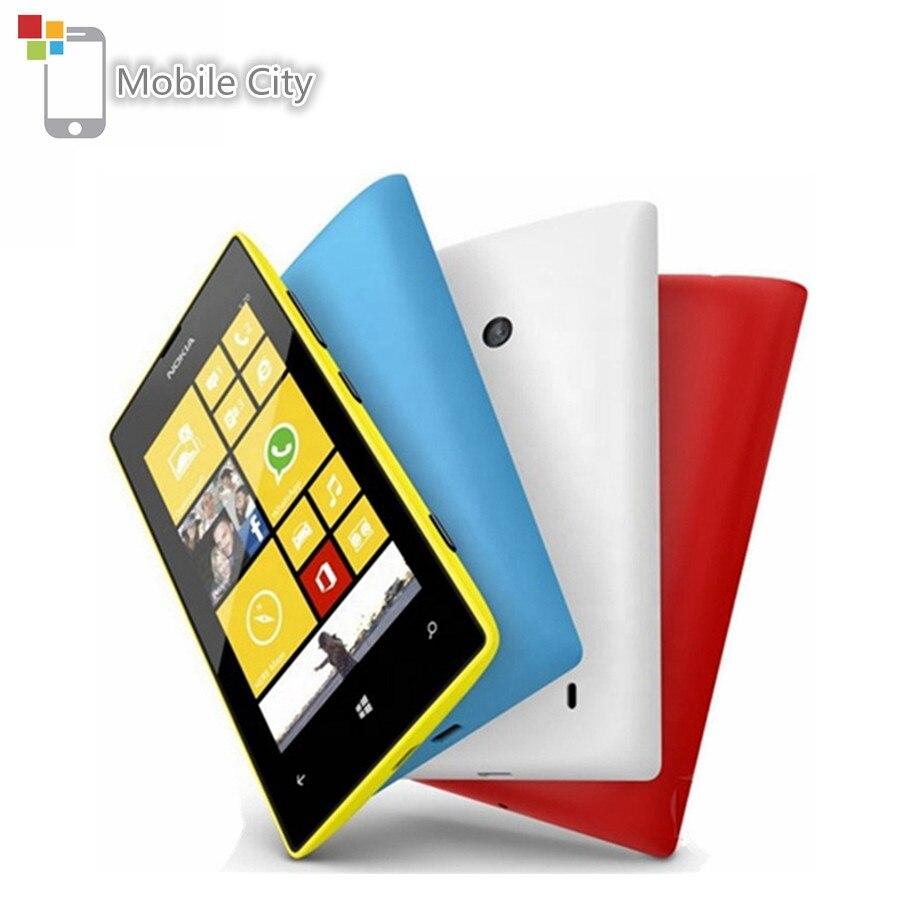 -Teléfono móvil Nokia Lumia 520 desbloqueado, smartphone con Dual Core, 3G, WIFI,...