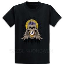 T Shirt Streetwear Skull Eye Sun Vector Cool Image T Shirt Spring Autumn Vintage Knitted Euro Size S-5xl Basic Cool Cotton Shirt