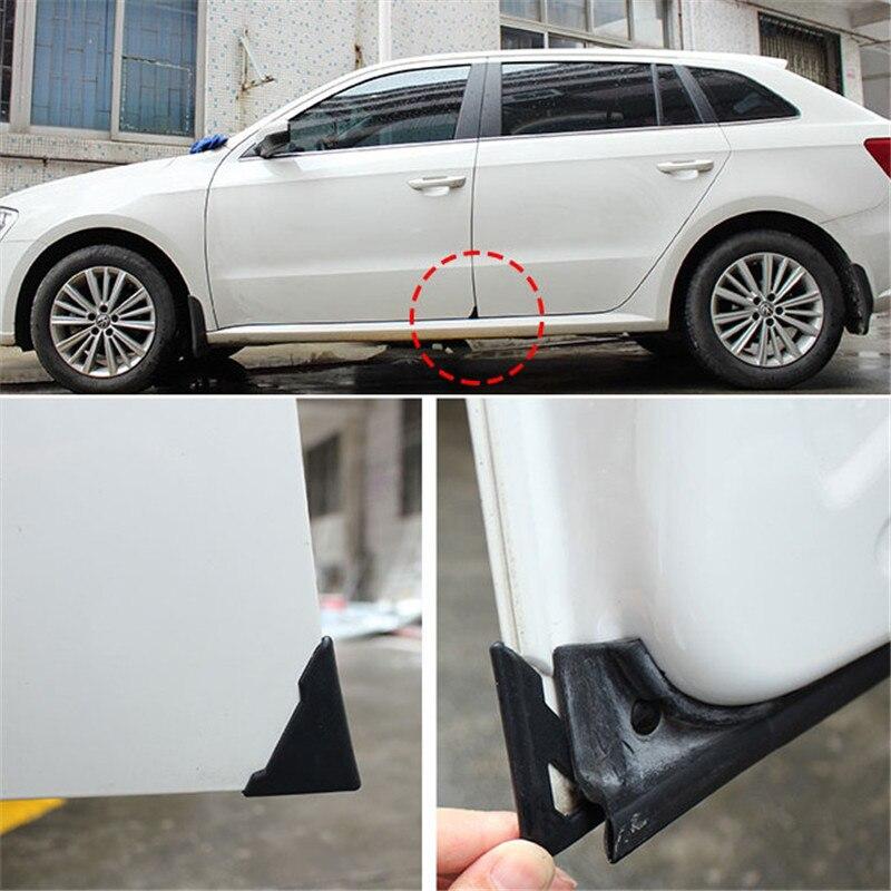 2 Piece Silicone Car Door Corner Cover Bumper Crash Scratch Protector Anti-Scratch Crash Protection Auto Care