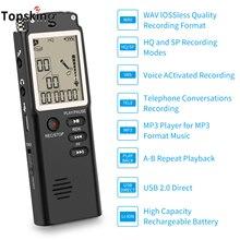Цифровой диктофон Pen USB Встроенный микрофон mp3 плеер диктофон аудио запись интервью с VAR/VOR 8 ГБ 16 ГБ 32 ГБ